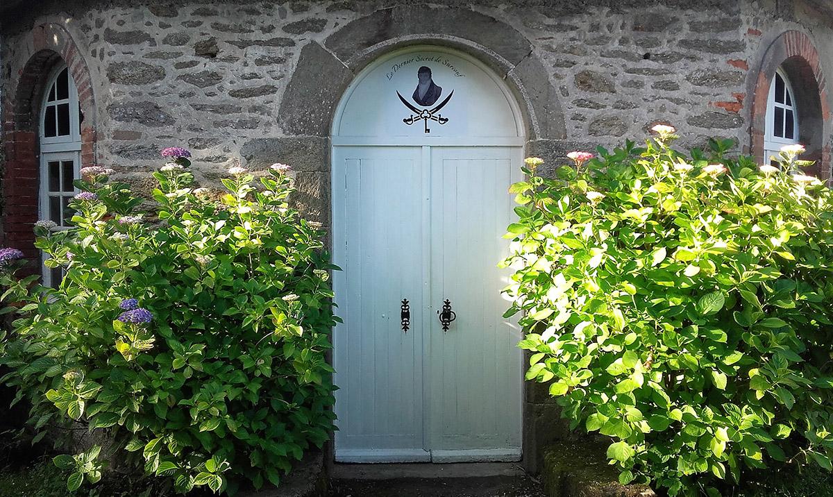 Facade du Manoir de la Baronnie à Chambre d'hôte à Saint-Malo